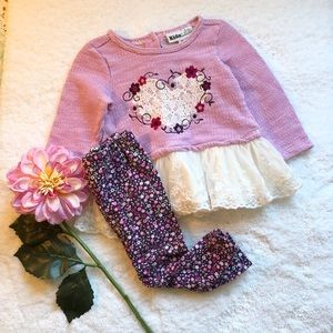 🌸Kids HQ Lace Sweater Set🌸